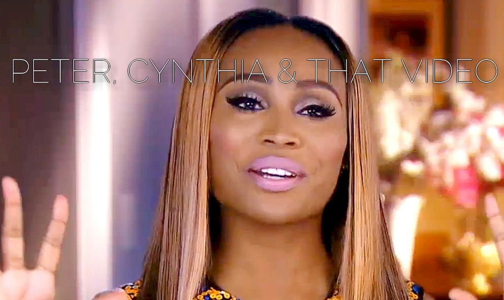 Peter Thomas Cheating Video Got Cynthia Bailey RHOA Contract? EXCLUSIVE