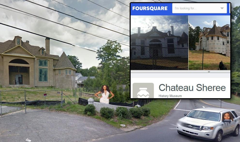 Sheree Whitfield vs Kenya Moore: Chateau Sheree Honored as History Museum