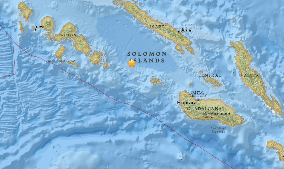 Solomon Islands Earthquake 2015 Today: 7.0 Hits Near Papua New Guinea