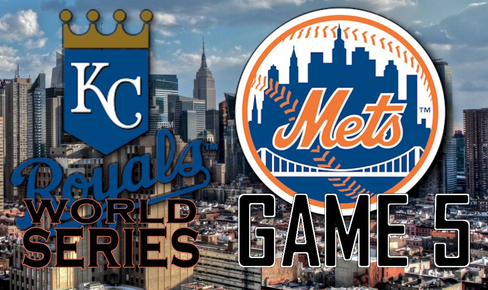 World Series Score 2015 Game 5: Royals vs Mets Score Puts KC in Lead