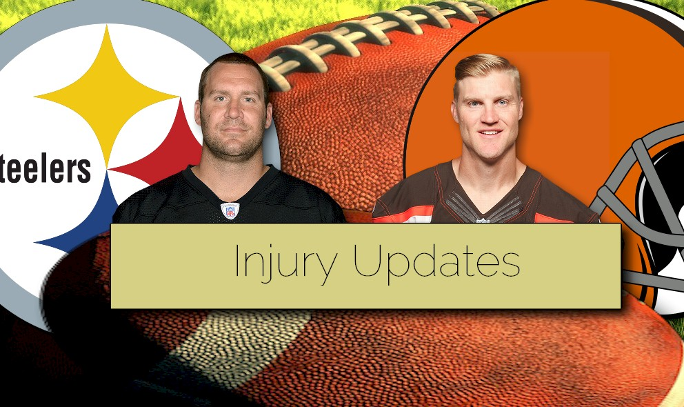 Josh McCown, Ben Roethlisberger Injury Updates: Plus Johnny Manziel to Start?