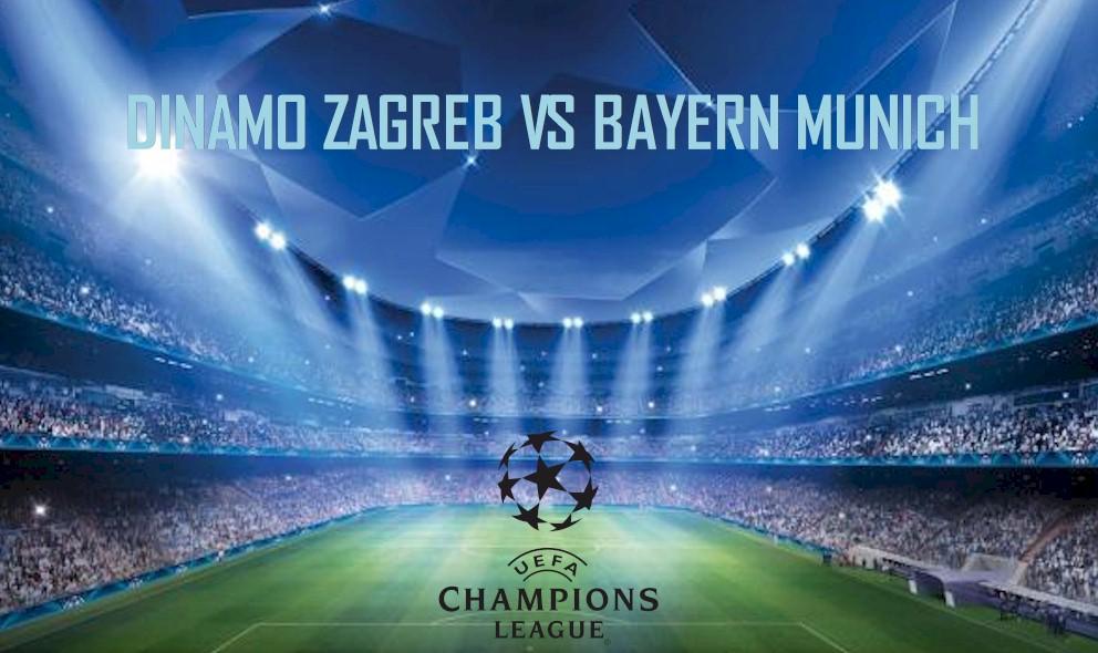 Dinamo Zagreb vs Bayern Munich 2015