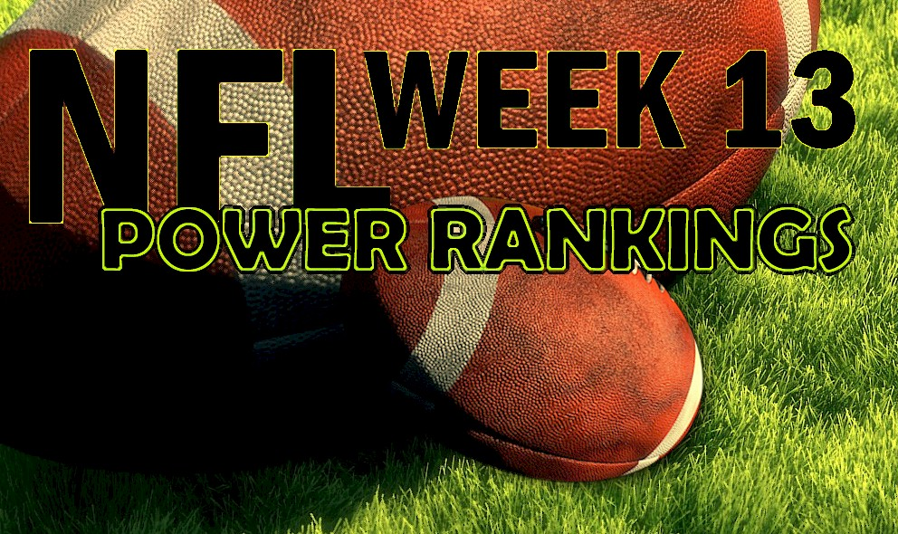ESPN Power Rankings NFL Football: Week 13 Standings 12/1 Surge Panthers