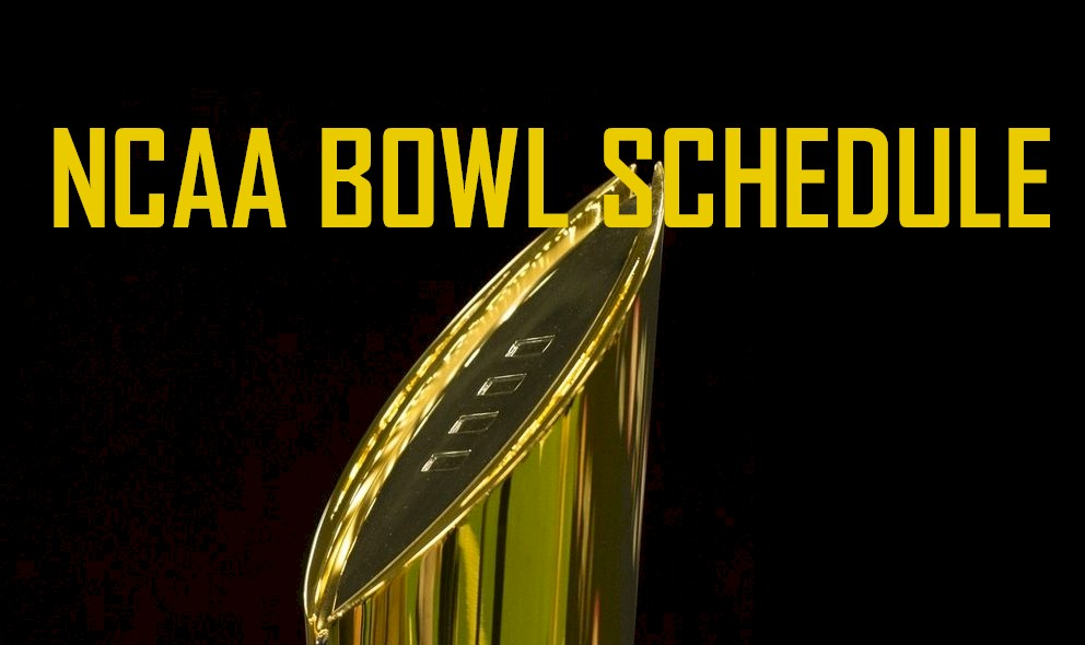 ncaa football bowl schedule 2015 16 revealed by espn college football - Christmas Day College Football