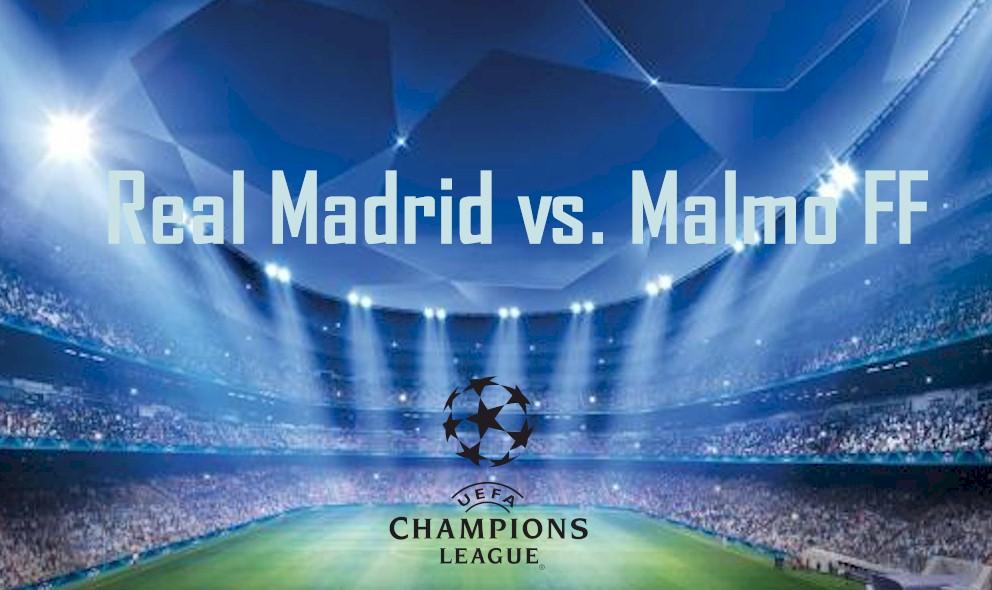 Real Madrid vs. Malmo FF 2015 En Vivo Score Ignites UEFA Champions League