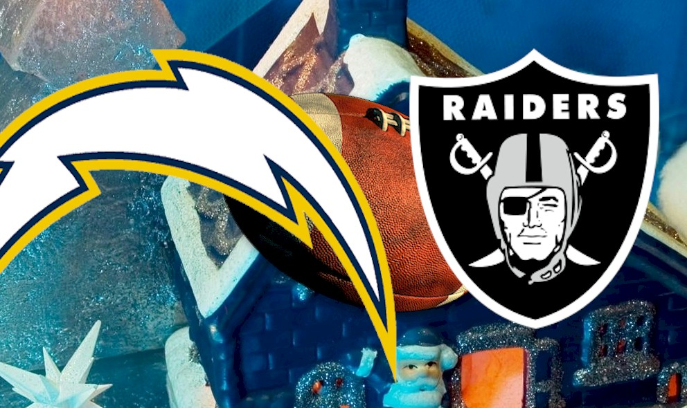 Chargers vs Raiders 2015 Score, Channel Ends Christmas Football Schedule