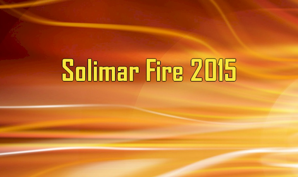 Solimar Fire 2015 Map: Solimar Beach Ventura Wildfire Closes 101 Freeway
