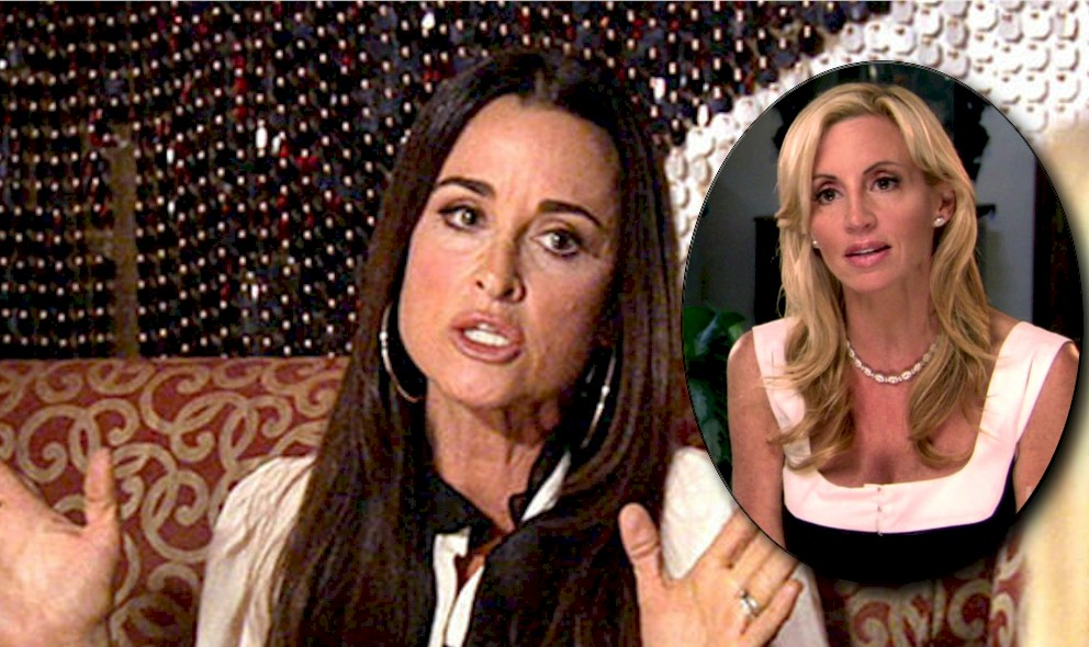 RHOBH: Did Kyle Richards Run Camille Grammer off the Show? EXCLUSIVE