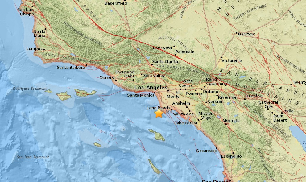 Los Angeles Earthquake Today 2015 Strikes Southern California, OC