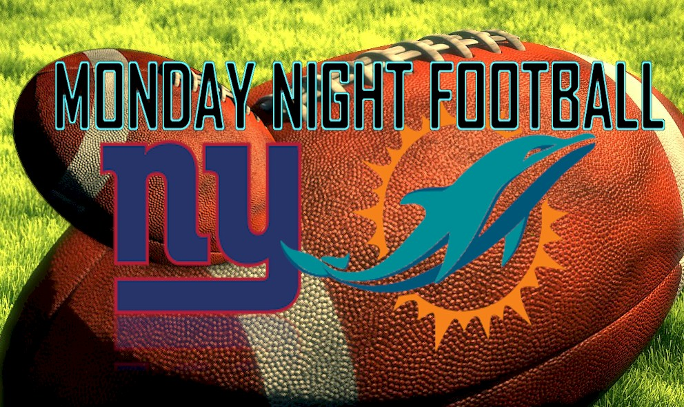Monday Night Football 2015 Results Prompt Giants vs Dolphins Score