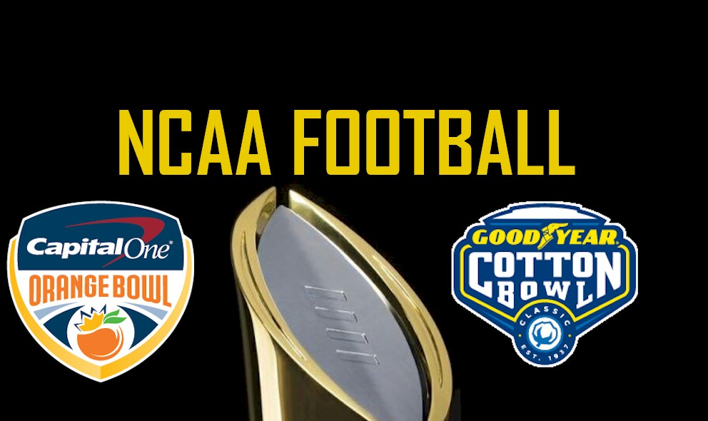 ncaa football college football playoff schedule preps new years day - Christmas Day College Football