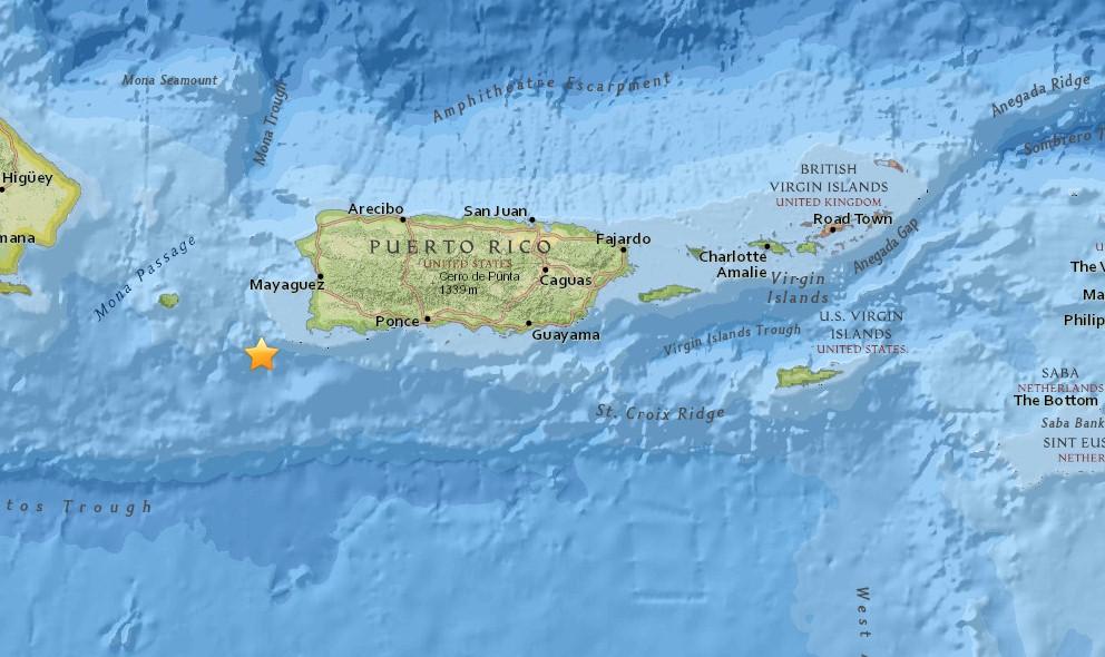 Red Sismica de Puerto Rico: Puerto Rico Earthquake Hits Today 2015