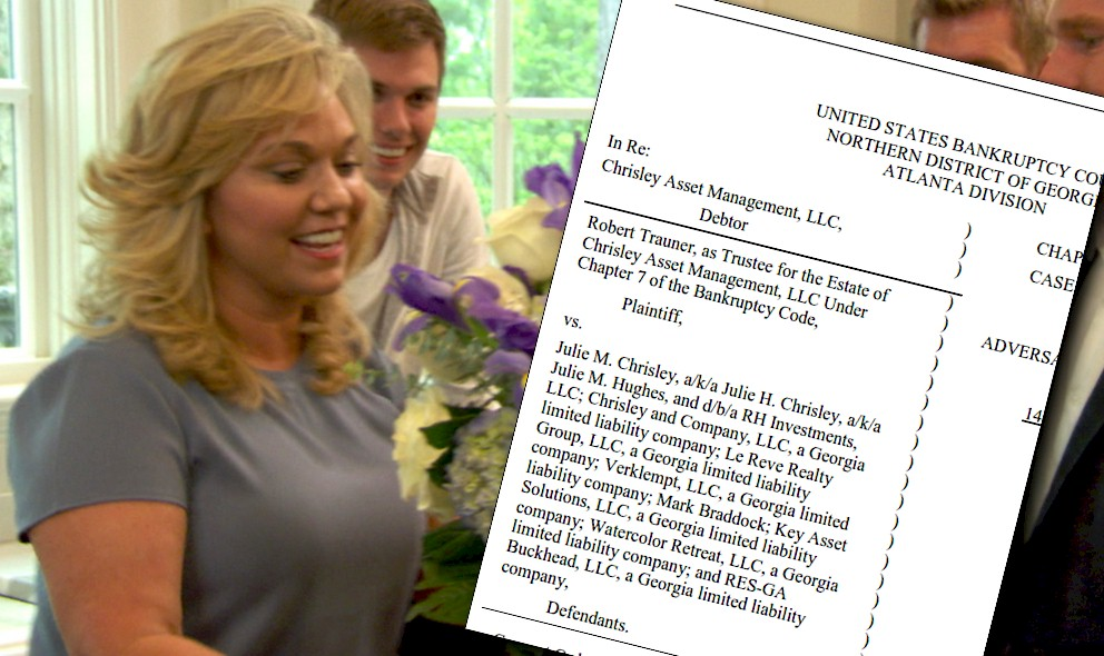 Todd Chrisley Wife Julie Battles More in Bankruptcy Court: EXCLUSIVE