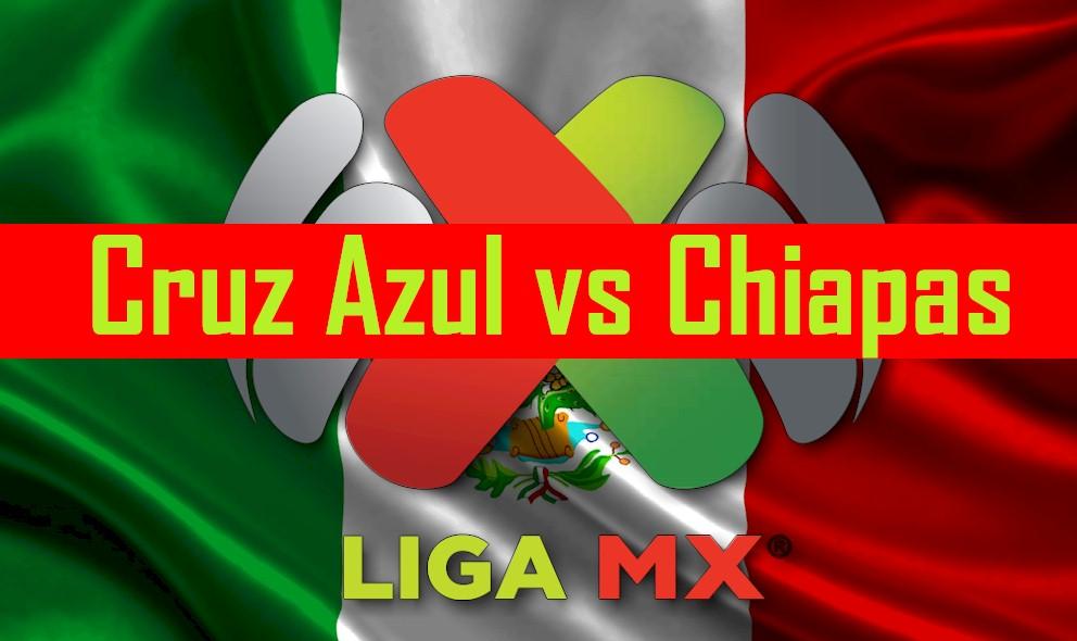 Cruz Azul vs Chiapas 2016 Score En Vivo Ignites Liga MX Table