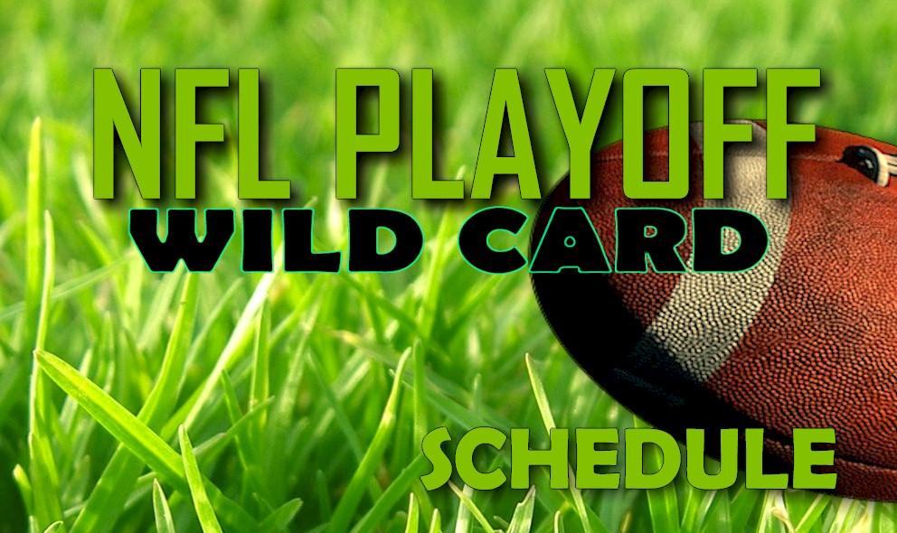 NFL Playoff Schedule 2015-2016 Wild Card Games Set Start Time, Channels