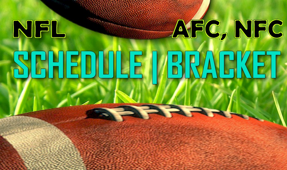 NFL Playoff Schedule 2015-16 Brackets Printable: TV Time