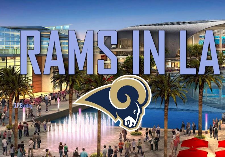 LA NFL Relocation: 20 Vote Approval Rams NFL Football Inglewood Stadium