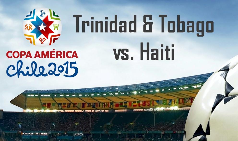 Trinidad and Tobago vs. Haiti 2016 En Vivo Score Ignites Copa America