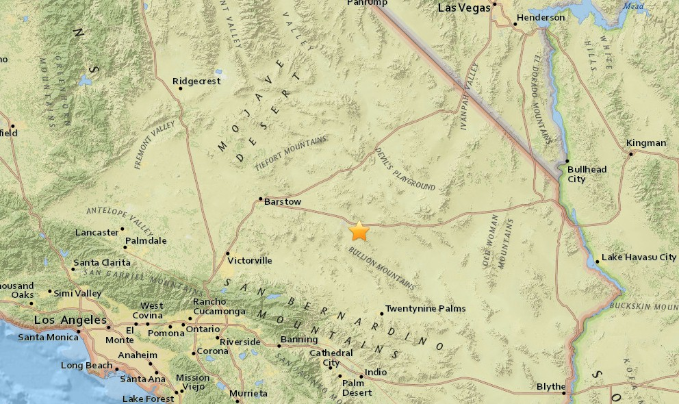 California Earthquake 2016 Today Strikes Near Palm Springs