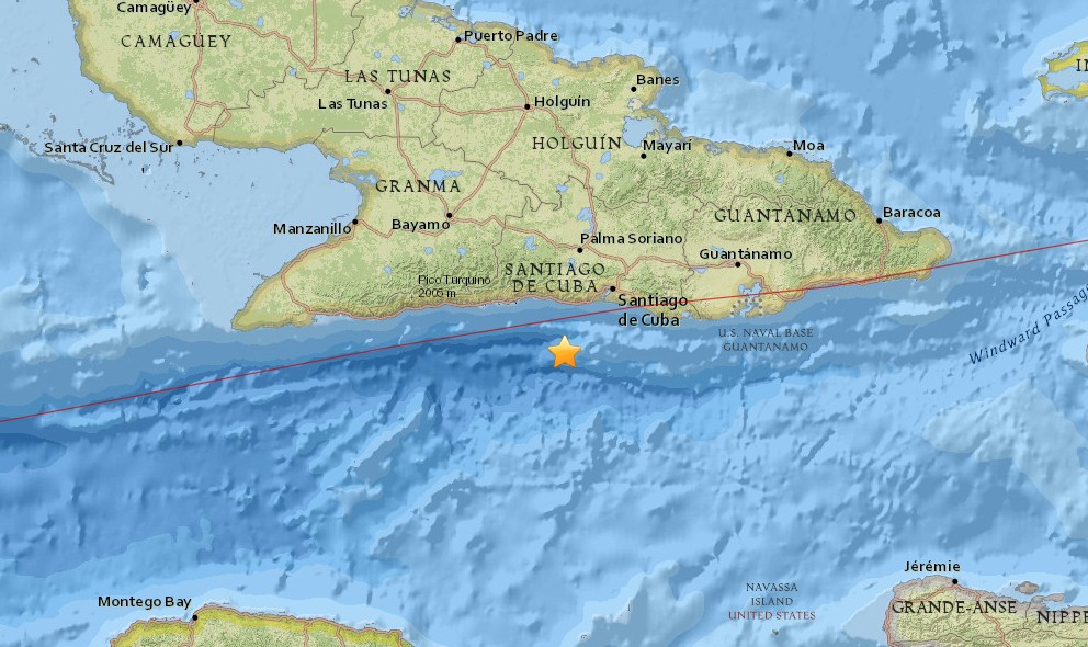 Cuba Earthquake Today 2016: Terremoto Strikes Off Coast