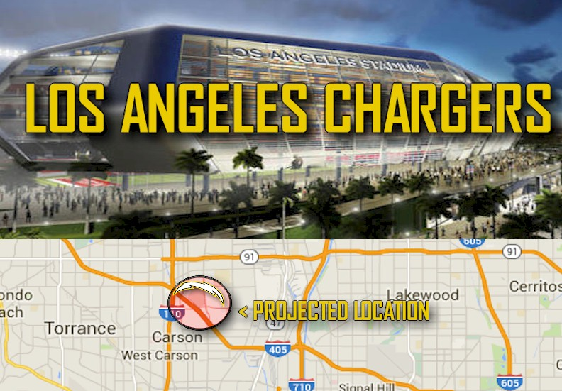 Los Angeles Chargers 2016: Carson Stadium Eyes Victoria Golf Course