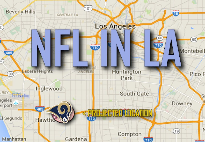 LA NFL Relocation Vote 2016 Results Today: Rams, Raiders, Chargers