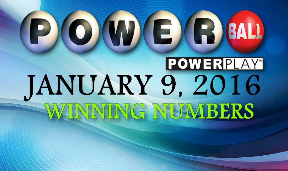 Winning powerball numbers january 13 2016