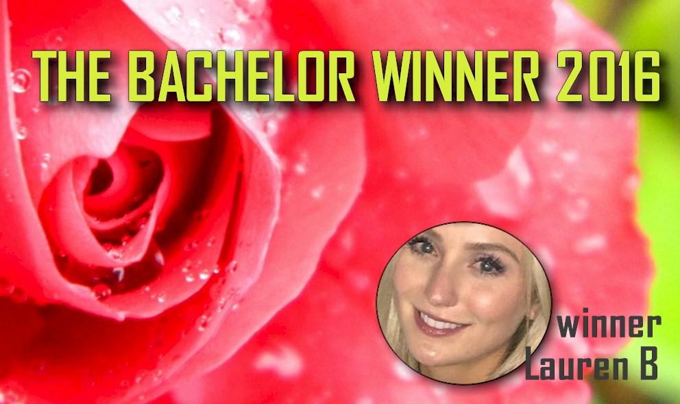 The Bachelor 2016 Winner Lauren Bushnell: Ben Higgins Picks Lauren B