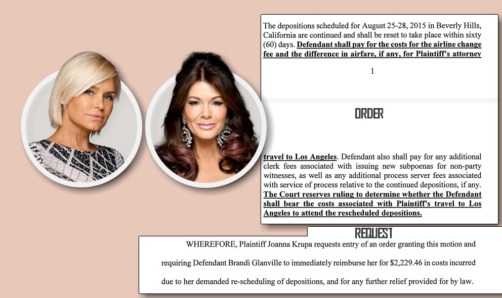 Yolanda Foster, Lisa Vanderpump Words Cost Brandi $3K? EXCLUSIVE