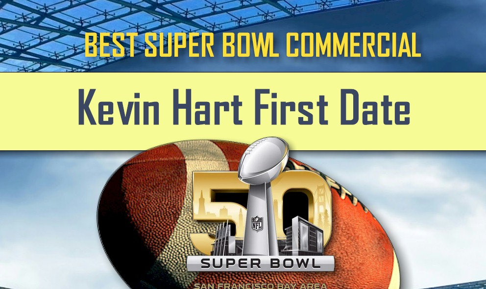 Kevin Hart First Date Ignites Hyundai Best Super Bowl Commercial 2016