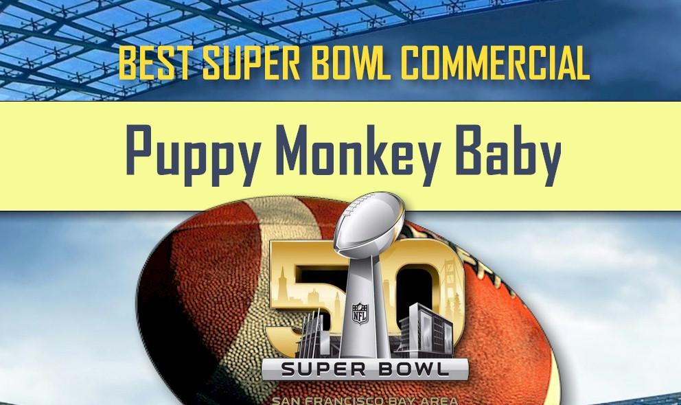 Mtn Dew Mountain Dew Puppy Monkey Baby Super Bowl