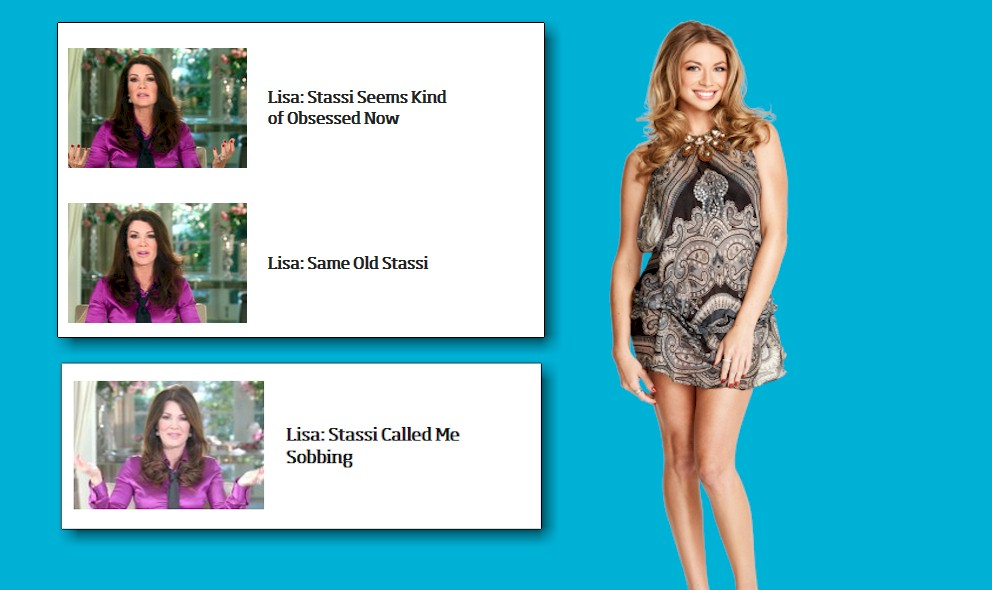 "Stassi Schroeder ""Obsessed""? Lisa Vanderpump Rules About Stassi"