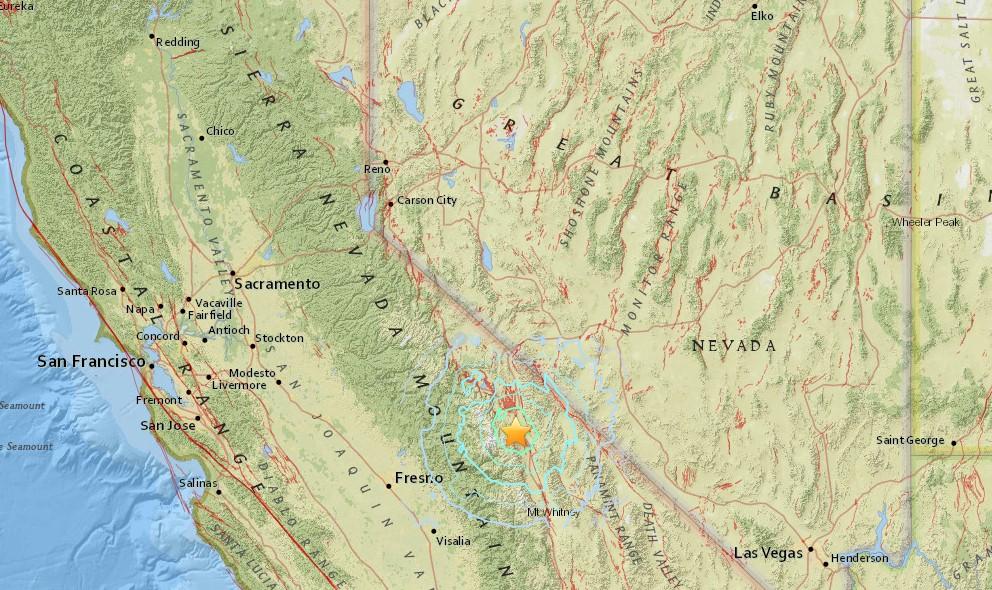 California Earthquake Just Now 2016: CA Quake Today Hits Big Pine