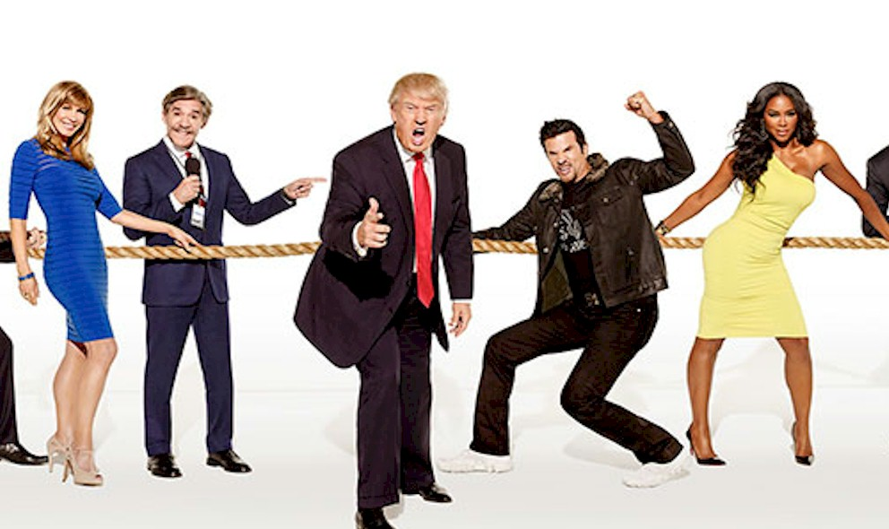Donald Trump Photoshopped Geraldo Rivera on Celebrity Apprentice: EXCLUSIVE