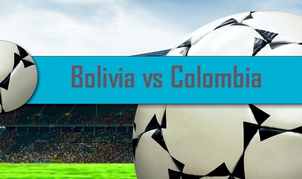 Bolivia vs Colombia 2016 Score En Vivo: Copa Mundial CONMEBOL Qualifier