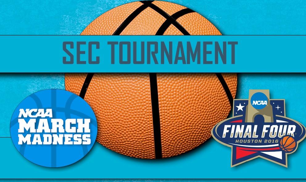 image regarding Sec Tournament Bracket Printable identified as SEC Basketball Event 2016 Bracket: Ga vs Kentucky