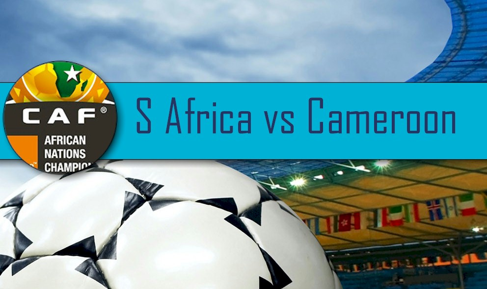 South Africa vs Cameroon 2016 Score: CAF African Cup of Nations Qualifier