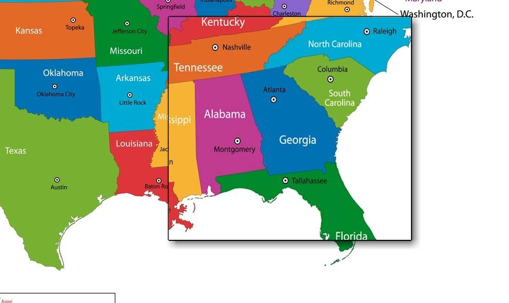 Georgia Tornado 2016 Warning Today Strikes Decatur