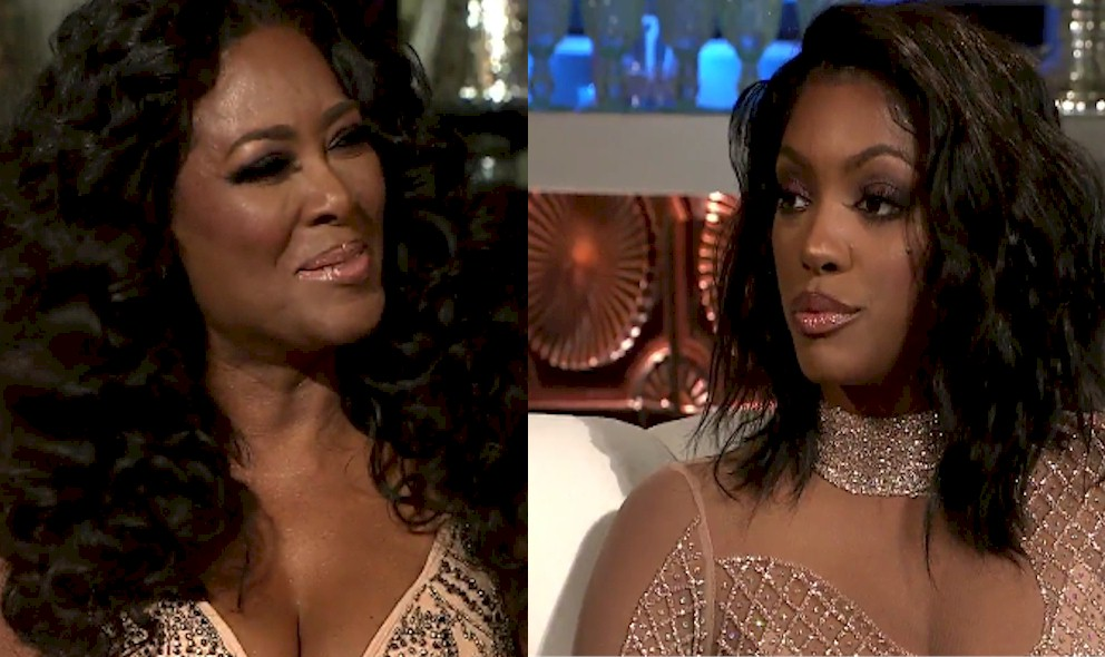 Kenya Moore, Not Pregnant: One Eye African Man Tale Solved: EXCLUSIVE