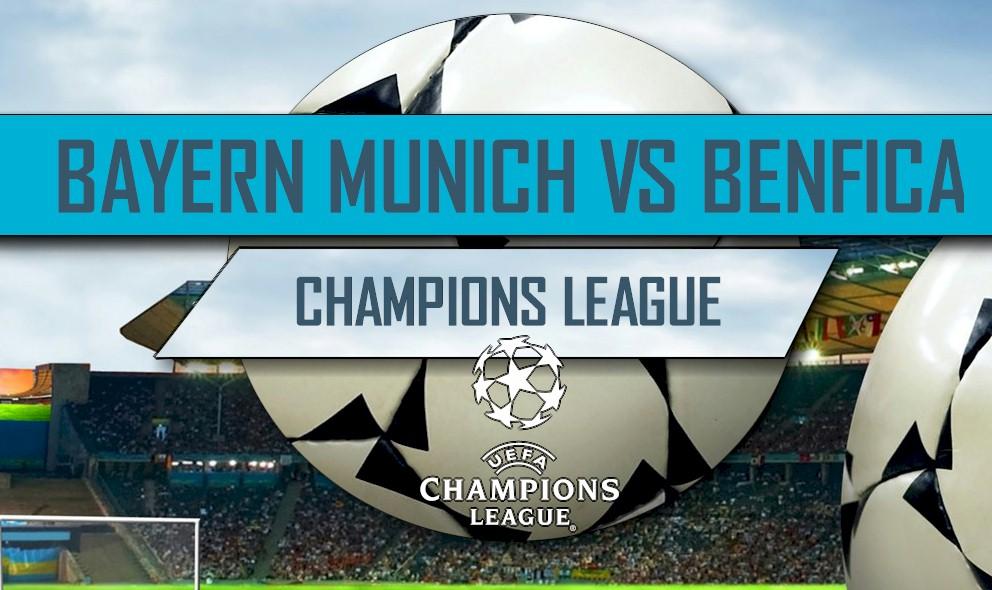 Bayern Munich vs Benfica 2016 Score En Vivo: UEFA Champions League Results