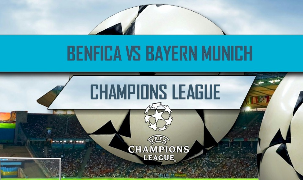 Benfica vs Bayern Munich 2016 Score En Vivo: UEFA Champions League