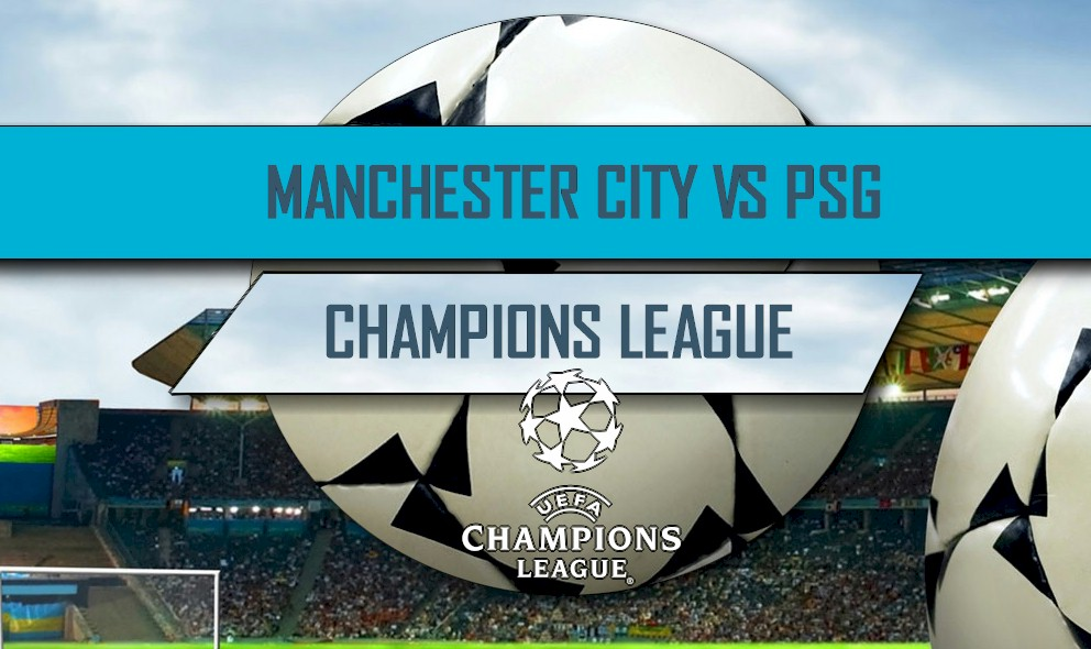 Manchester City vs PSG 2016 Score: UCL, UEFA Champions League 4/12