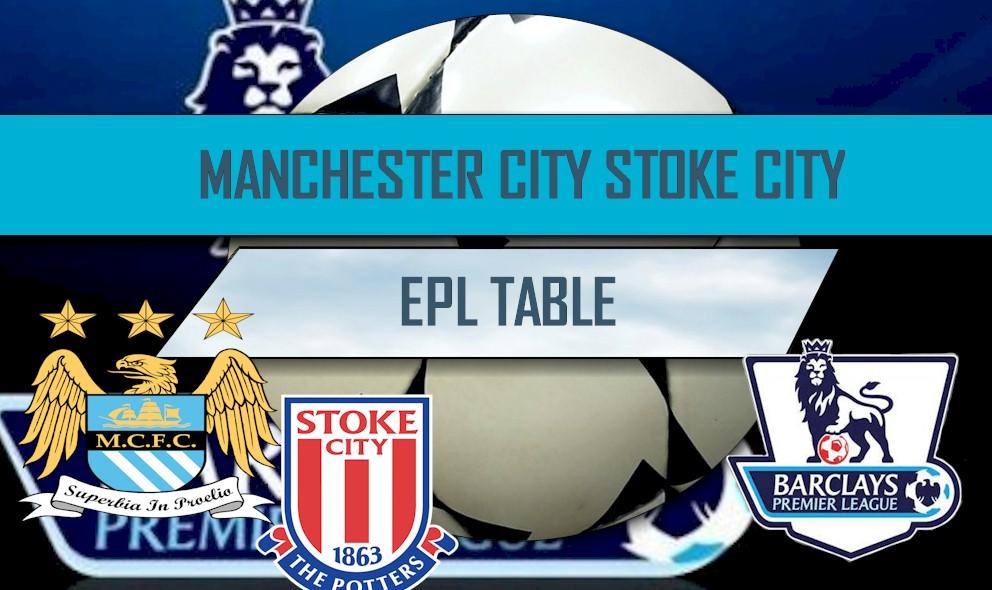 Manchester City vs Stoke City 2016 Score: EPL Table Score Results Ignite