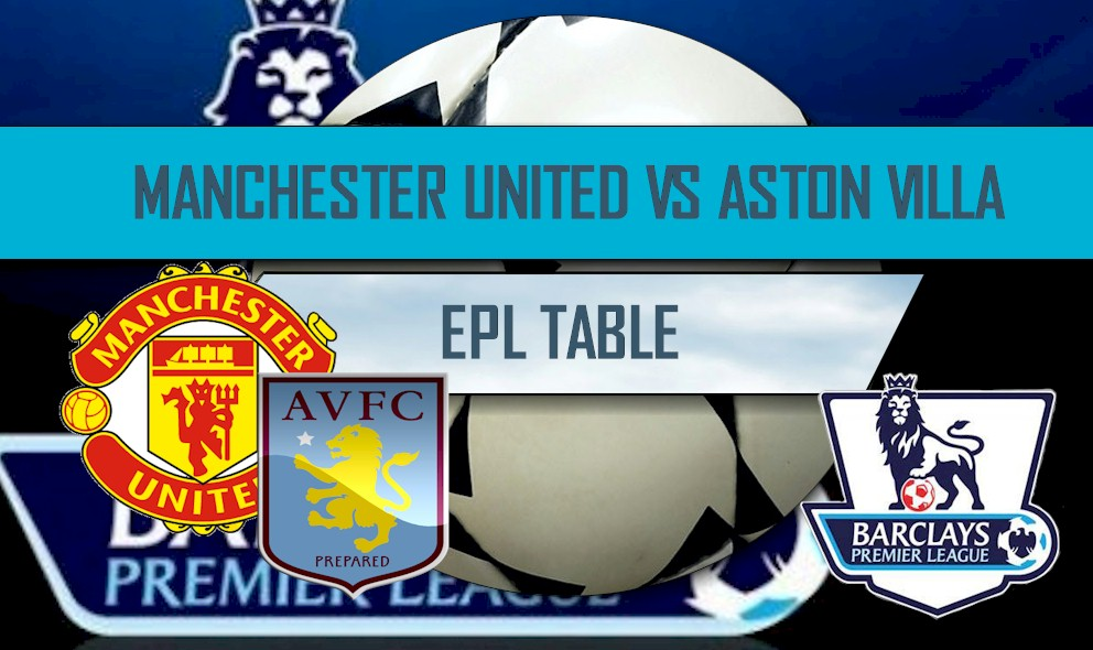 Manchester United vs Aston Villa 2016 Score Heats Up EPL Table Results
