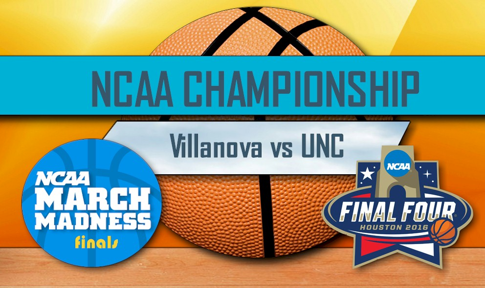 NCAA Basketball Tournament 2016 Score, Winner: Villanova vs UNC Score