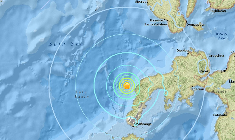 earthquakes today philippines