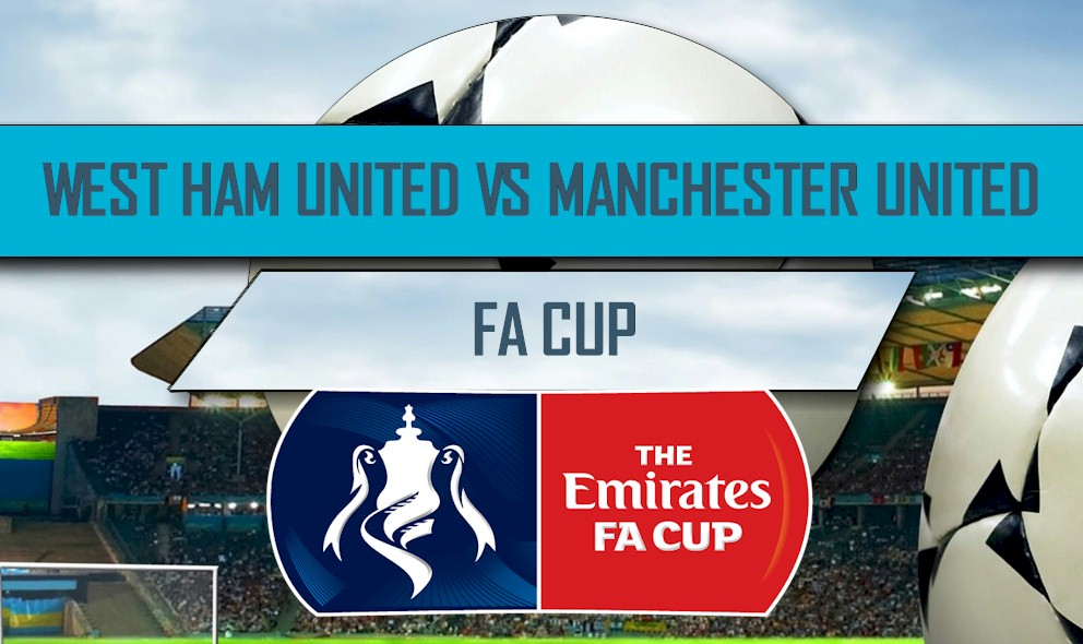 West Ham United vs Manchester United 2016 Score: Emirates FA Cup Results