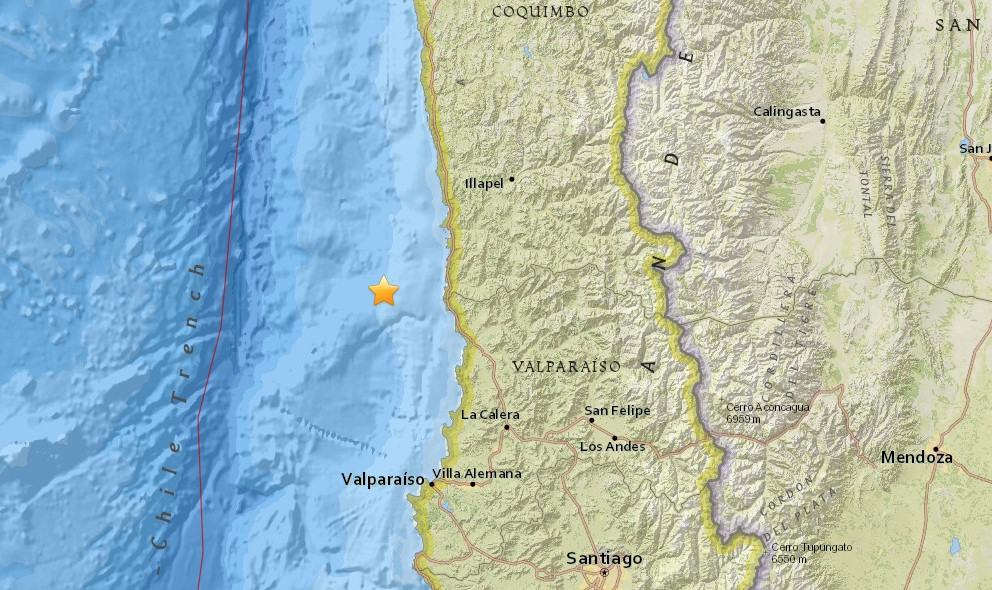 Chile Earthquake 2016 Today: Terremoto Strikes Near La Ligua