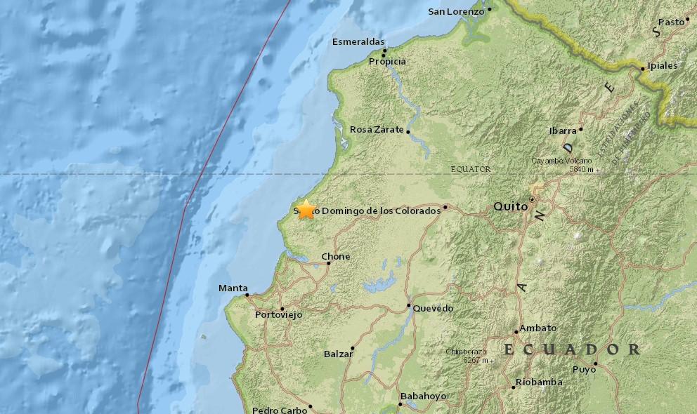 Ecuador Earthquake 2016 Today: New Terremeoto en Ecuador Strikes