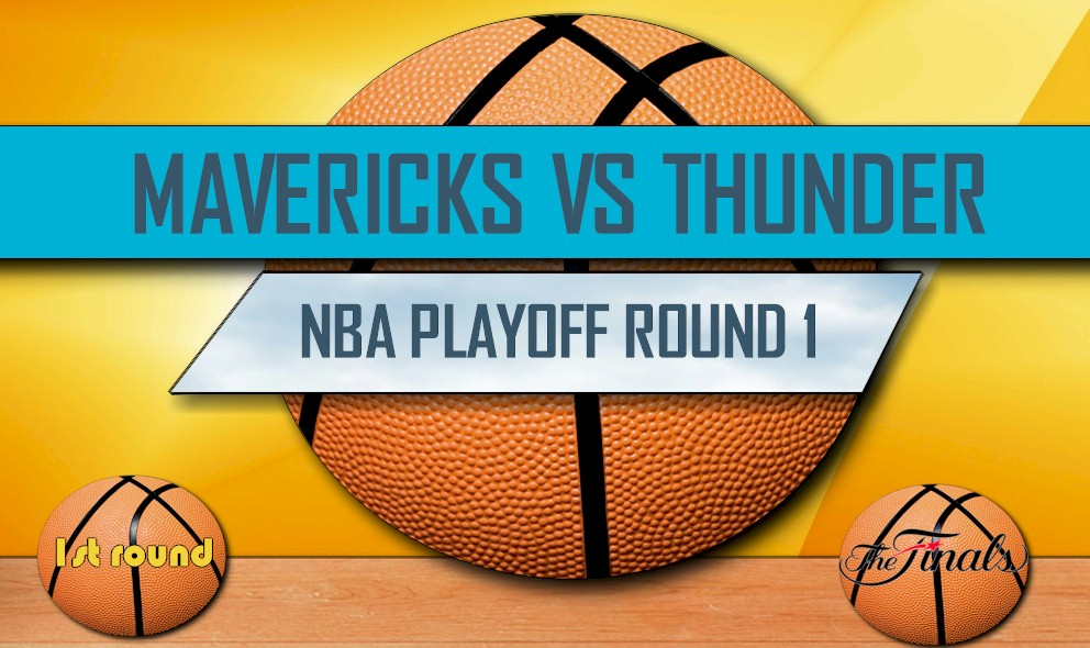 NBA Playoff Bracket 2016 Printable: Mavericks vs Thunder Score Results